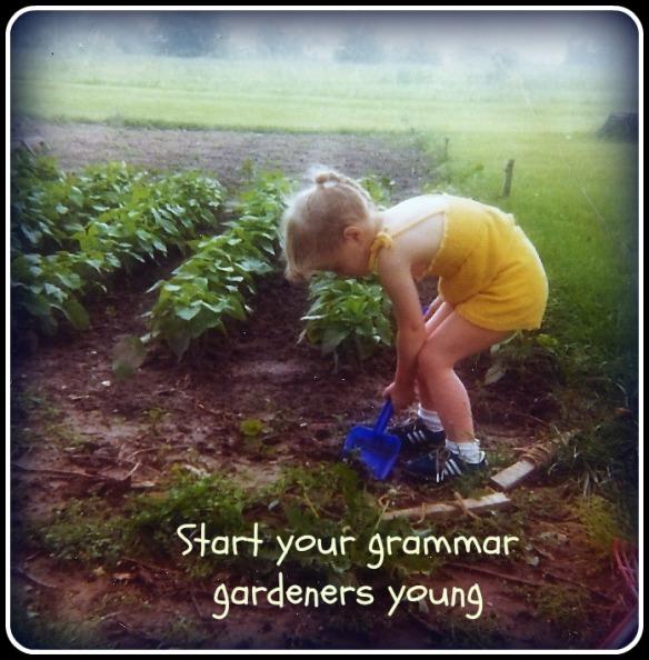 young grammar gardener